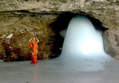 पवित्र अमरनाथ गुफा के लिये यात्रियों का नया जत्था रवाना