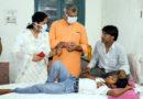 महापौर ने महर्षि वाल्मिकी संक्रामक अस्पताल का निरीक्षण कर स्थिति का जायजा लिया