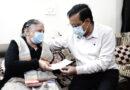 मुख्यमंत्री ने स्व. डॉ. हितेश गुप्ता के परिवार को एक करोड़ रुपए की सहायता राशि का चेक सौंपा