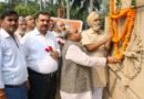 उत्तरी दिल्ली के महापौर ने गांधी जी की प्रतिमा पर माल्यार्पण कर श्रद्धांजलि अर्पित की